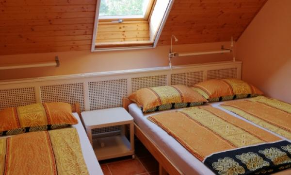 Szállás reggelivel, franciaágyas szoba, pótágyazható